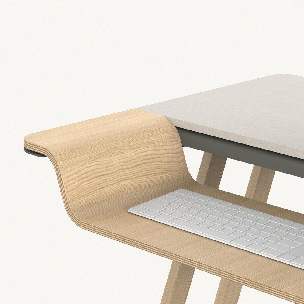 Artisan Desk Riser Design 07