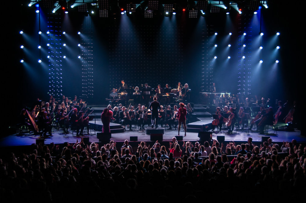 The Studio: 54 Reasons to Party in collaboration with the Adelaide Symphony Orchestra   Image Credit:  Roy Vandervegt