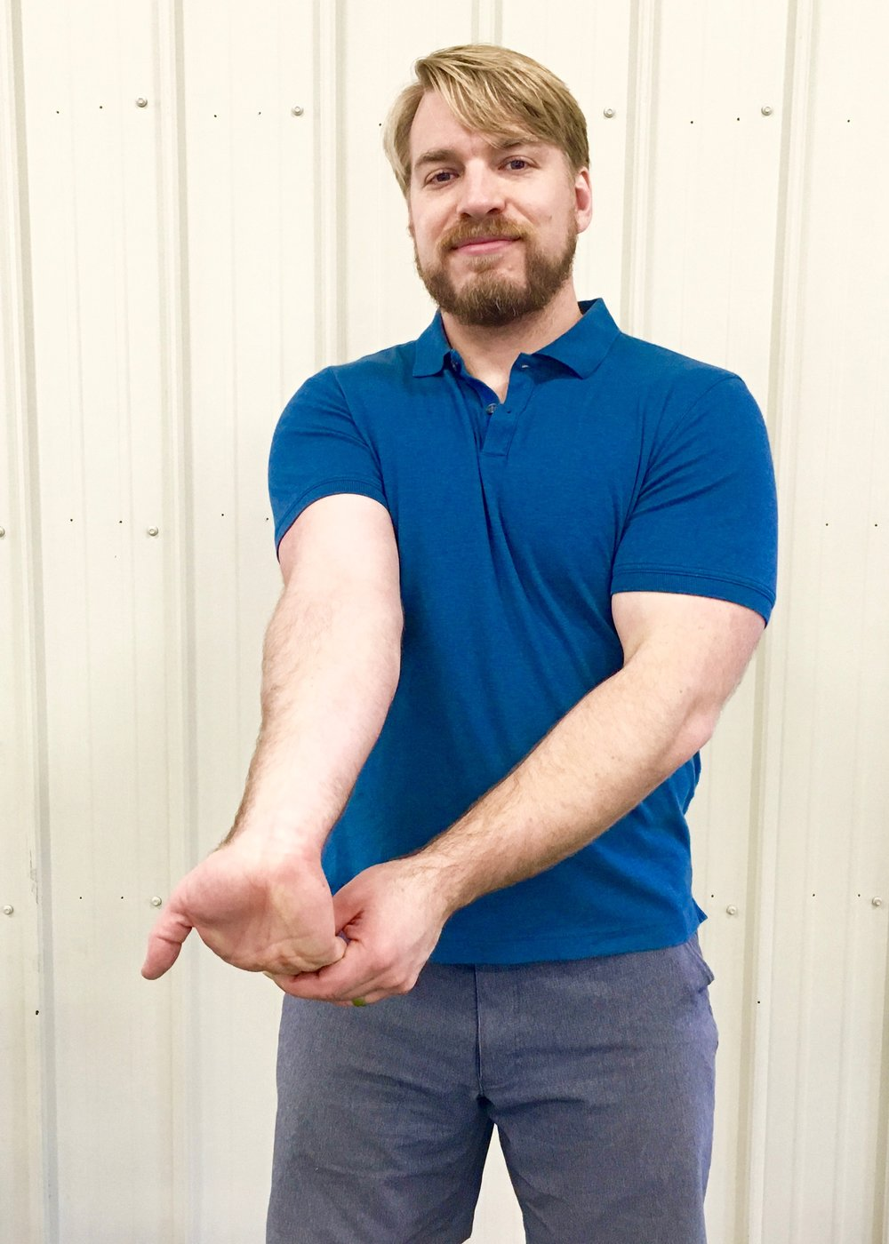 Golfer's Elbow Stretch