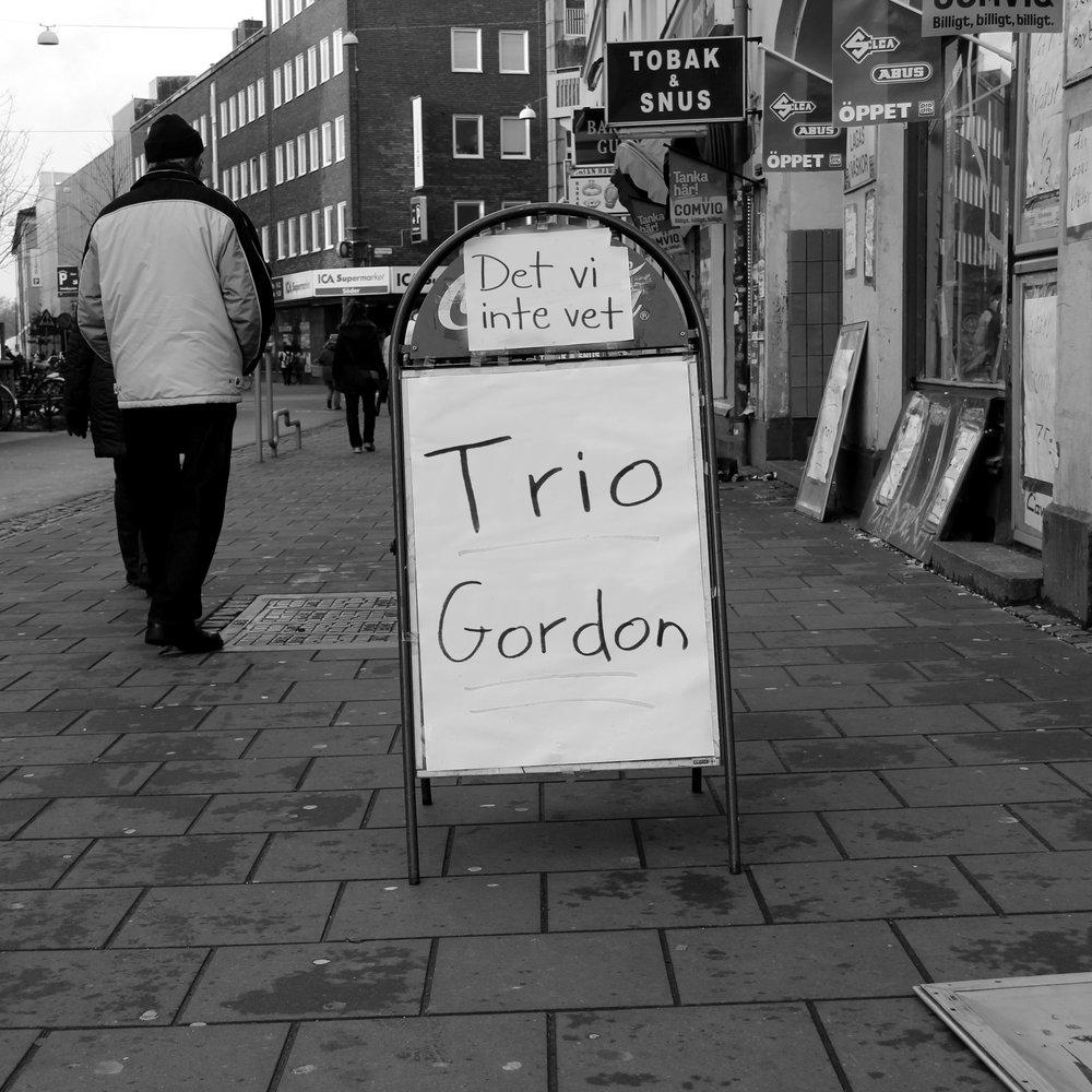 Trio Gordon - Det vi inte vet