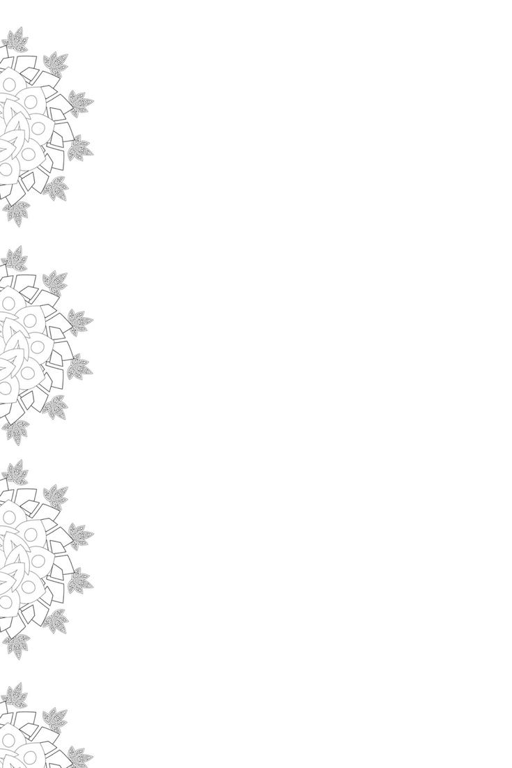 """Papier à lettre collection """"Mandala"""" modèle n°1"""