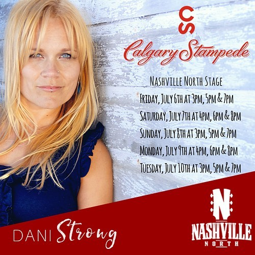 SO STOKED to have a residency at the @calgarystampede for 5 days starting July 6th until July 11th on the Nashville North Stage!! Can't wait to spend 7 days with my band in Calgary!! If you're heading to Stampede... come on over and check out one of our sets... we've got lots!  Yell out your requests, throw us your bras.... . . Side note: Did I mention also that my biggest musical inspiration is also playing Stampede this year??? Yep... SHERYL CROW (amongst MANY other talented artists)!!! She plays the day of our final set... I'll be sprinting from Nashville North stage over to Coca-Cola stage decked out in my Sheryl merchandise screaming her lyrics with tears in my eyes like a 12 year old at a Spice Girls concert in 1996.