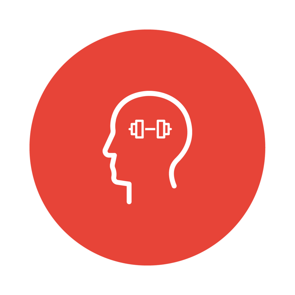 Mindset - Met de juiste mentaliteit helpen wij je te focussen op je doel.