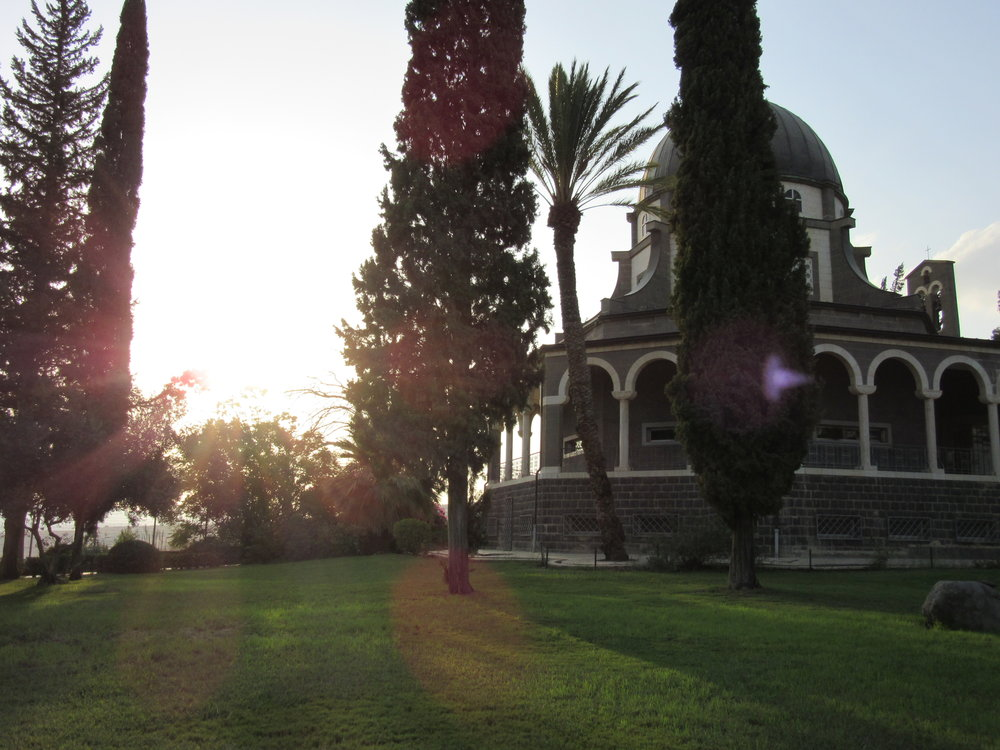 Israel: Church of the Beatitudes on Sea of Galilee