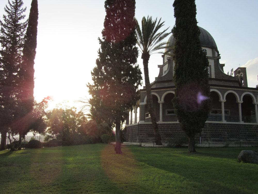 Israel: Church of the Beatitudes on Sea of Galilee