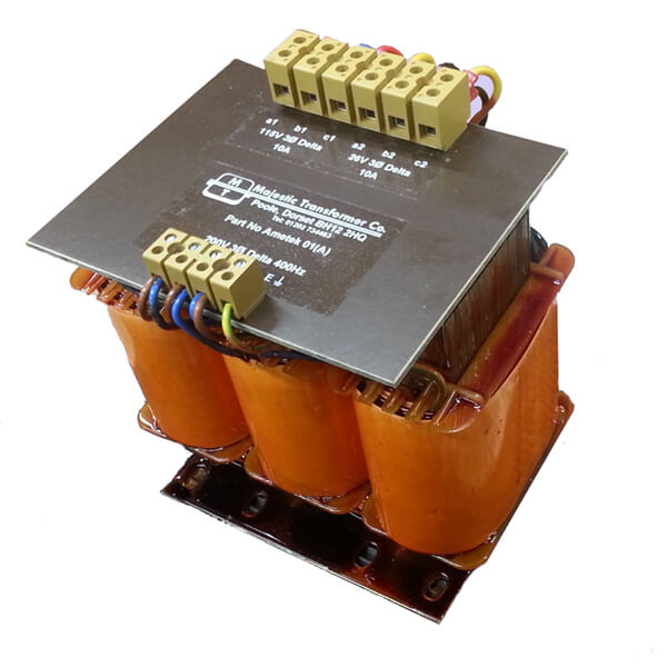 Three Phase Open Frame Transformers -