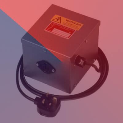 230V – 110V American Equipment Transformer -