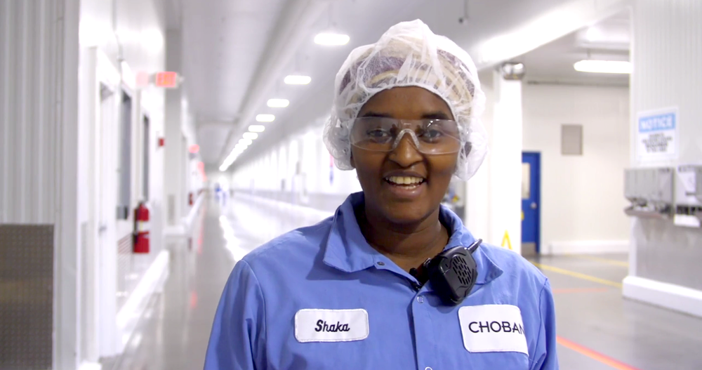 """""""It's so exciting for Chobani to have a new home in Twin Falls, Idaho."""" — Shaka, Environmental Technician"""