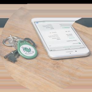 KeyNest App and Fob