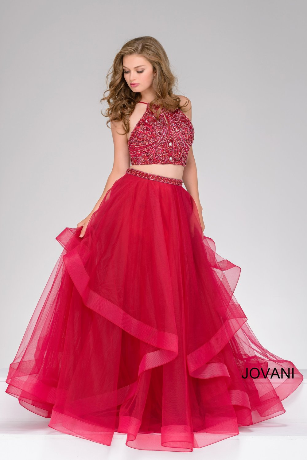 Jovani - Our amazing selection of Jovani prom and formal dresses will stun you. From bold, bright colors to sophisticated black and whites, we have the absolute perfect dress for you.