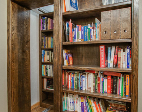 Custom Remodeling  Feeling creative? We love challenging builds! Our bookshelf turned hidden wine cellar is one of our favorite custom projects and is a massive hit with our customer's guests. There is no project too ambitious for us to tackle. If you can think of it, our expert team will build it.