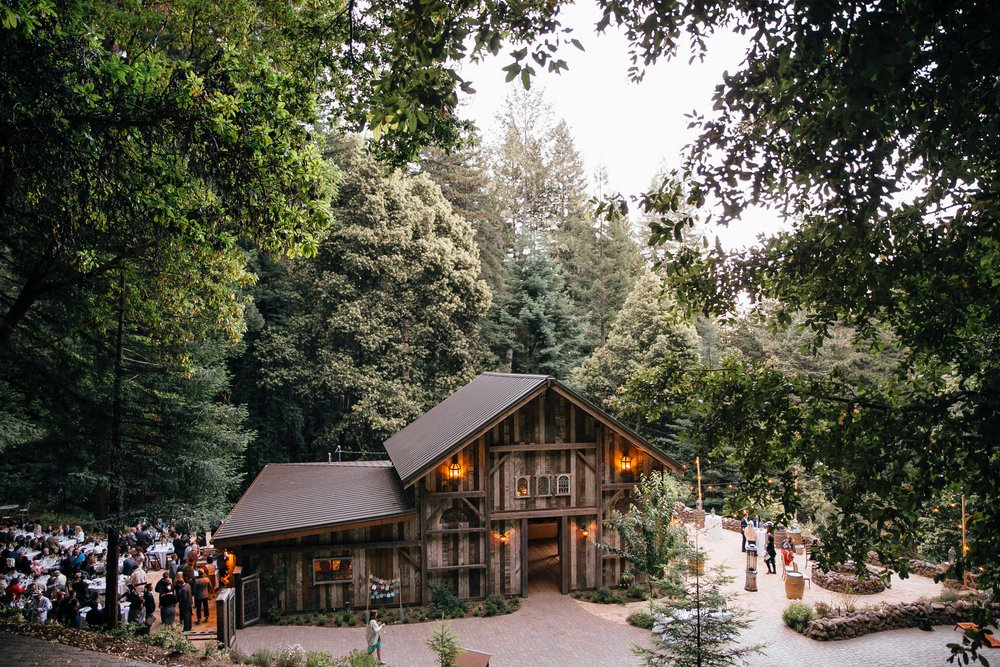 Santa Cruz Redwood Lodge Wedding
