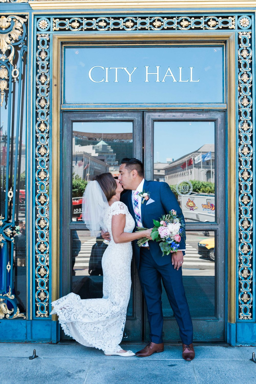 San Francisco & City Hall Wedding