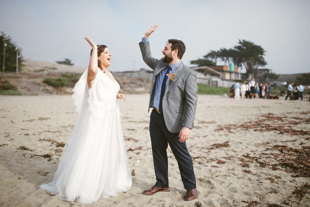 Davenport Beach Wedding