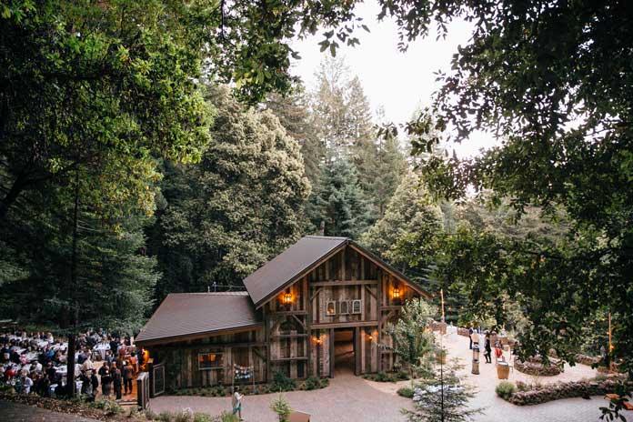 Santa Cruz Redwood Lodge Wedding