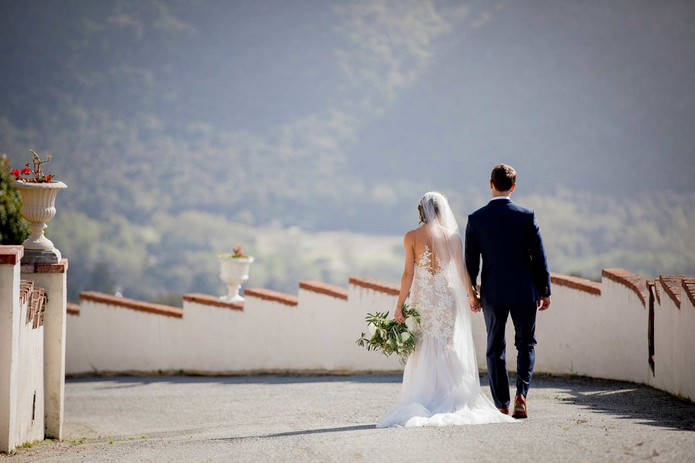 French Chateaux Carmel Wedding