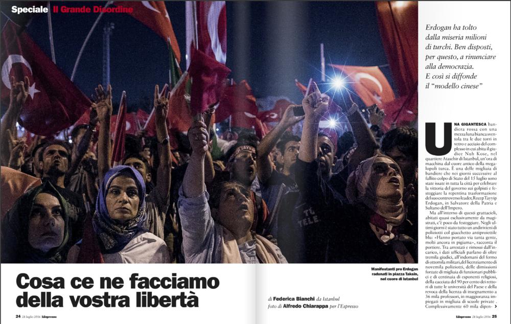 L'Espresso Mag Italy July 2016