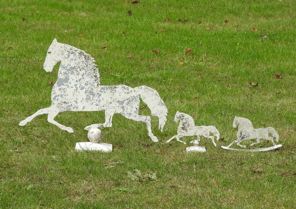 Galloping Horses - £85 & £28 - Medium:  50 x 37cmMini:  12 x 21cm