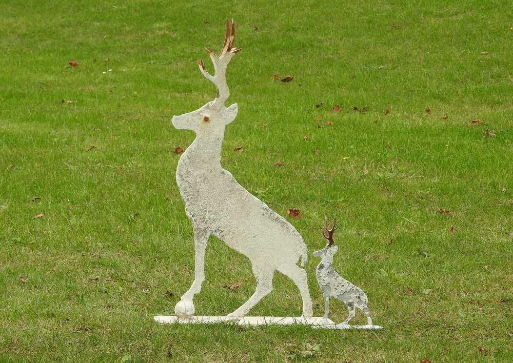 Small Stag - £98 Mini Stag - £38 - Medium:  62 x 35cmMini:  25 x 14cm