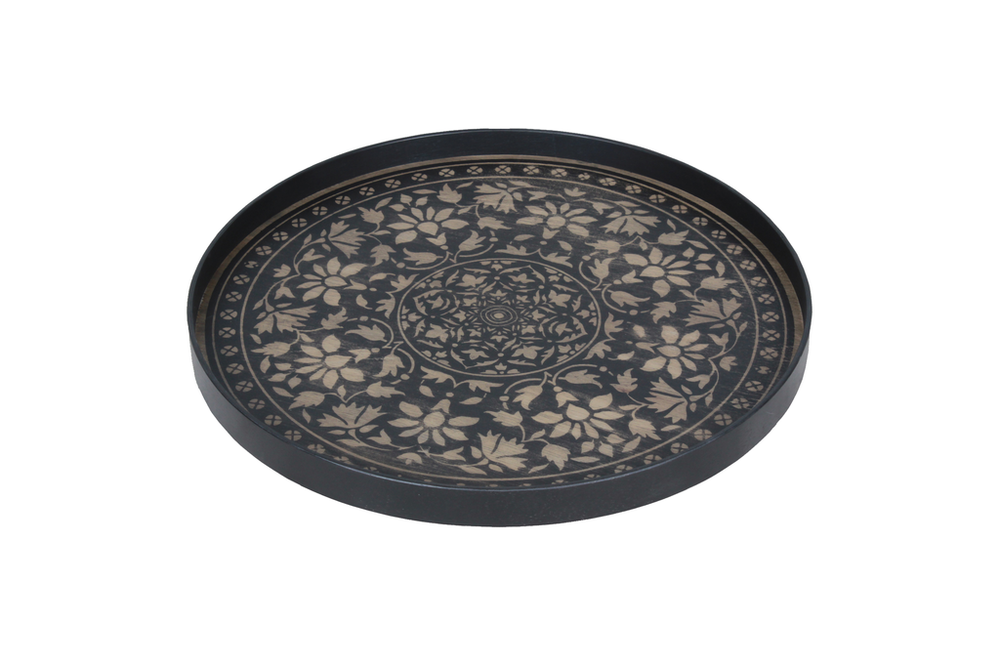 Black Marrakech large driftwood tray - £117 - 61 x 61cm