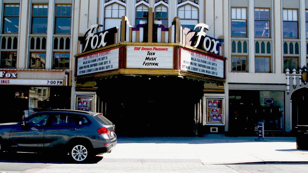 Teen Music Festival 1 - September 7th, 2018Fox TheatreRedwood City, CA