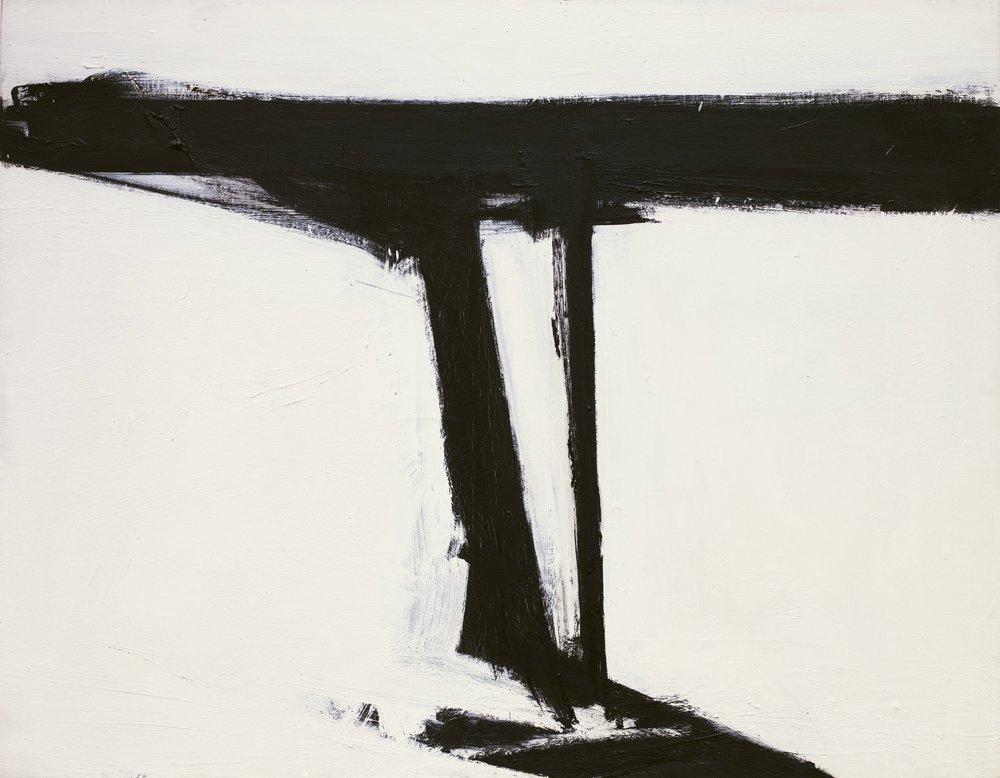 Franz Kline,  Le Gros , 1961