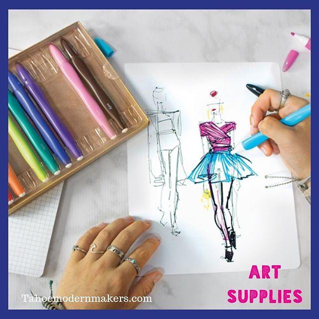 Get your Art Supplies at Tahoe Modern Makers. . . . #modernmakers #create #artsupplies #southlaketahoe #tahoe