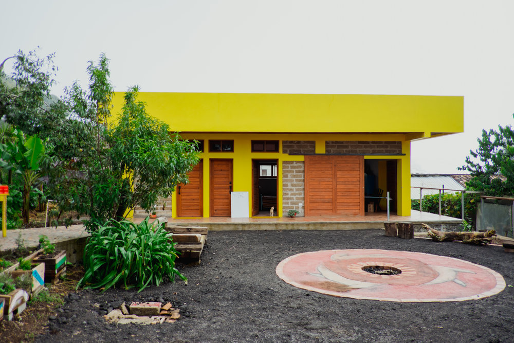 Lowell and Mayra's home in Santa Elena, artist residence