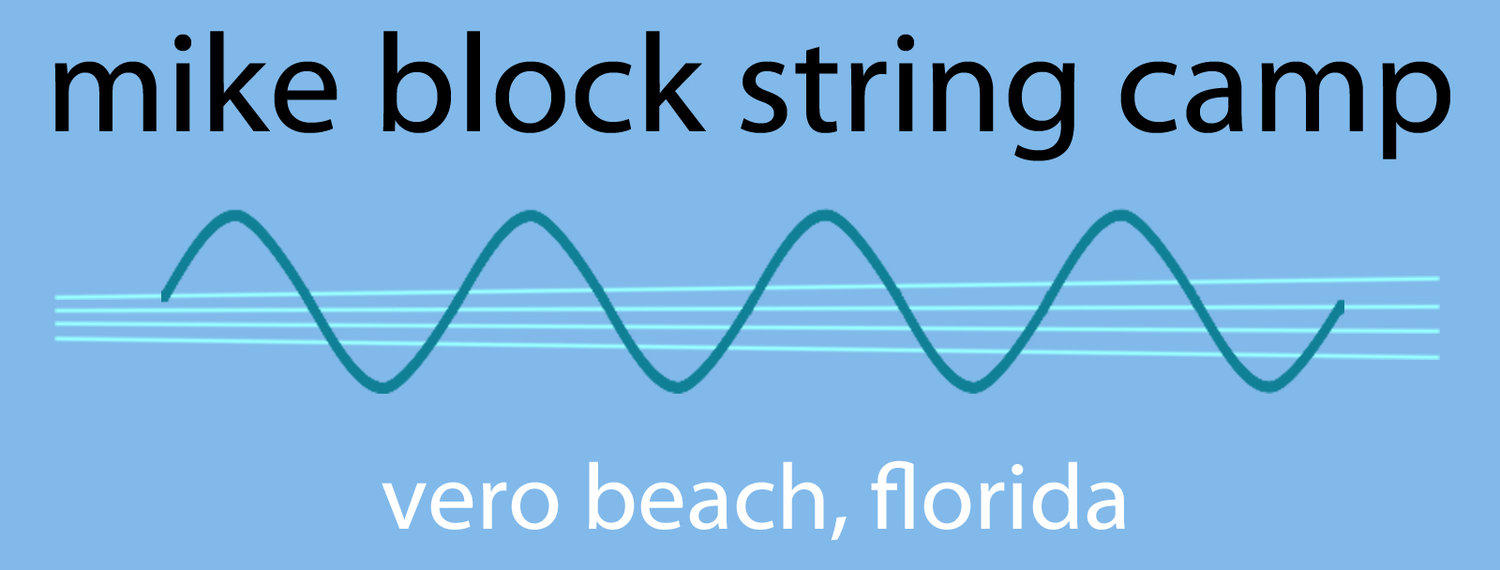 Mike Block String Camp
