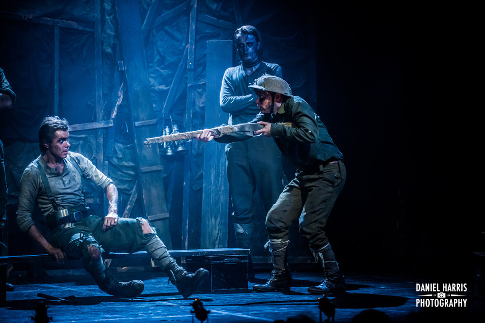 Les Enfants Terribles march into town with their breathtaking production,  The Trench  and knock spots off so many festival offerings. This extraordinary show is so beautifully realised that it's hard to know where to start ✮✮✮✮✮ THE SUNDAY TIMES