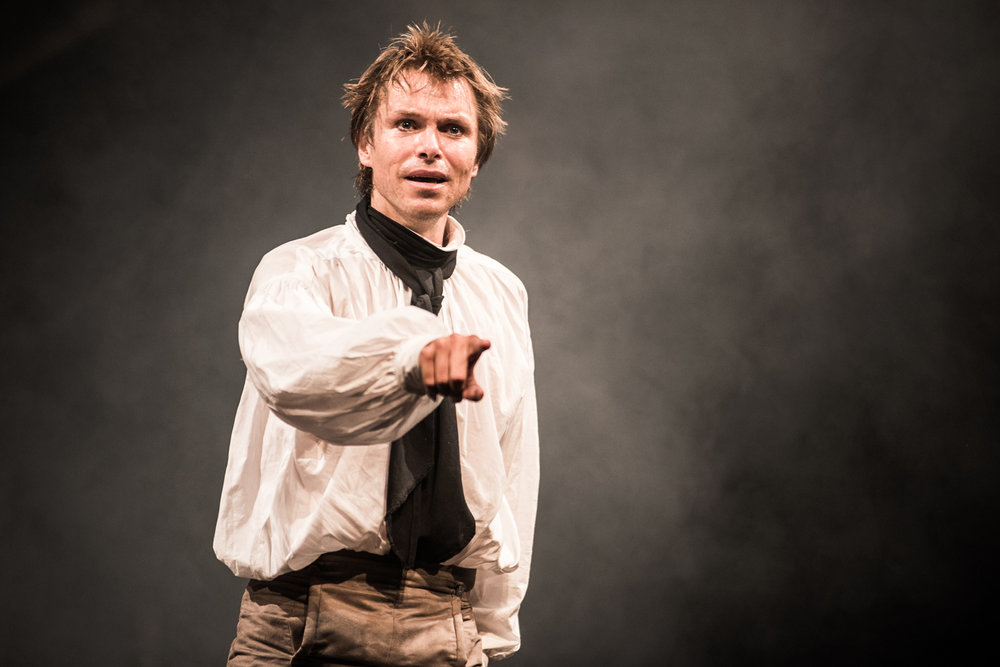 """Intensely interesting and original, with strokes of real power… Ben Warwick gives a glittering performance as anguished Victor Frankenstein"" THE TIMES"