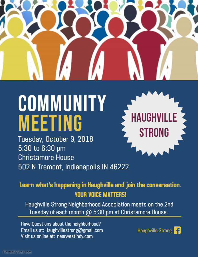 Haughville STRONG Neighborhood Association Meeting — Near West