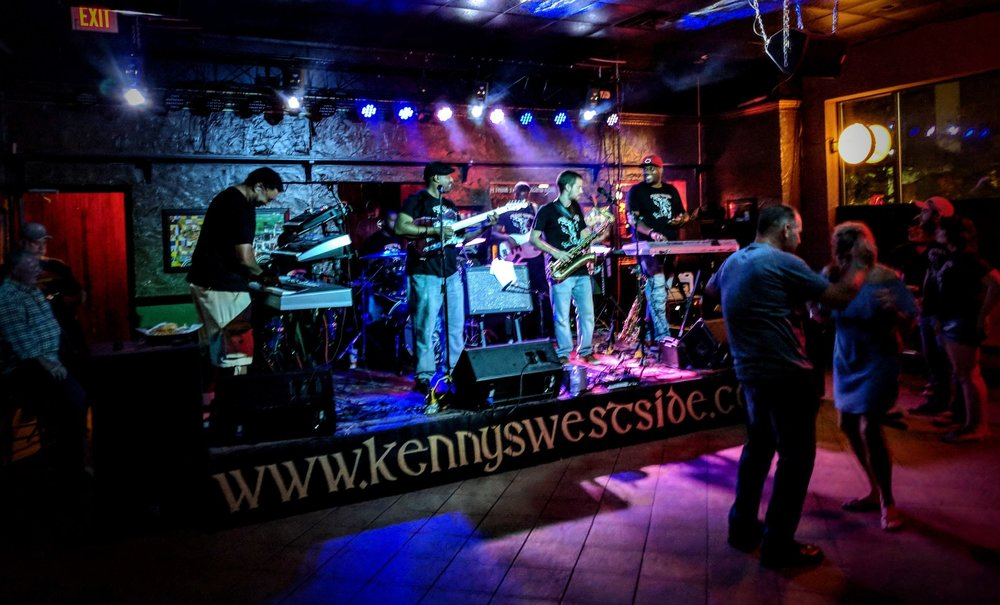 Dexter O'Neal and Funk Yard at Kenny's Westside Pub