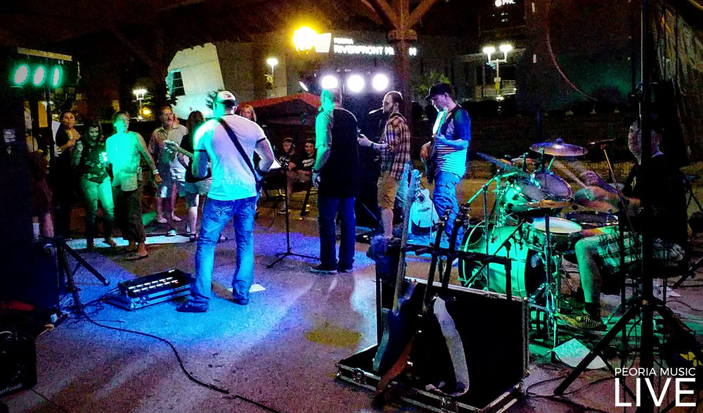 Trailer Parke had the dance floor full at Martini's!Aug 25, 2018 These guys have been very supportive of Peoria Music Live since the beginning.