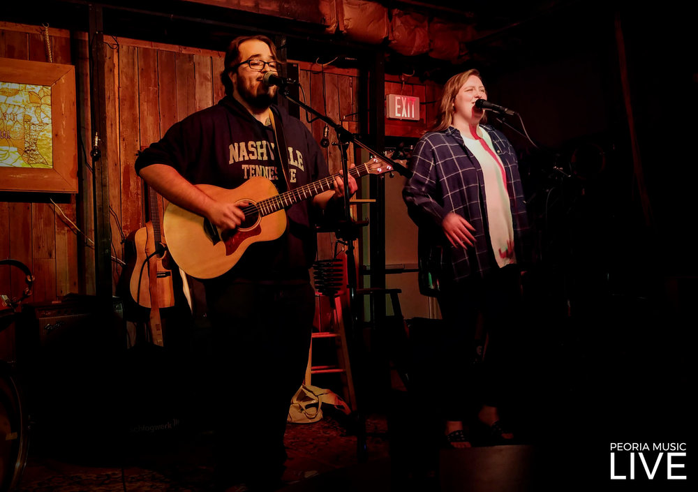 Nick Lee and Sara Klemm aka Nick Lee and the Buncha Bastards At Red Barn Sept 7, 2018