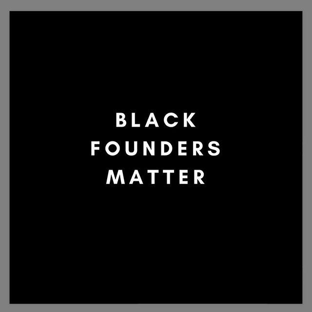 #fundafounder #blackfoundersmatter #putyourmoneywhereyourmouthis #weartheshirt #changestartswithyou