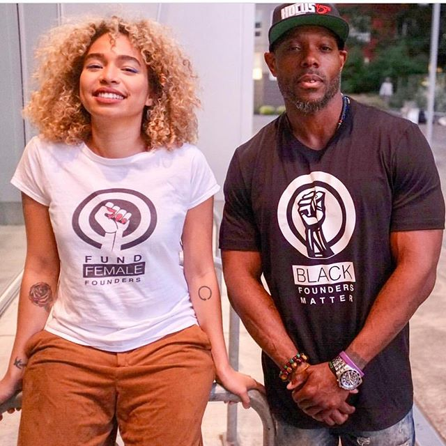 Funding black founders and their entrepreneurial businesses is easy... all you have to do is buy a shirt.. #blackfoundersmatter #fundafounder #swag #invest #funding #entrepreneurship  www.blackfoundersmatter.org