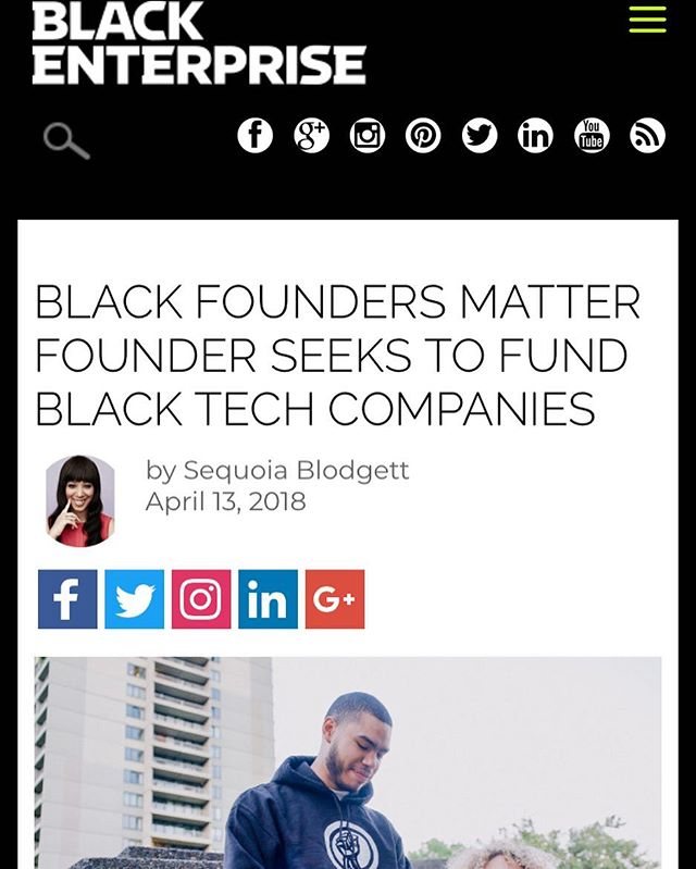 So excited to be written up by Black Enterprise Magazine. Link in Bio