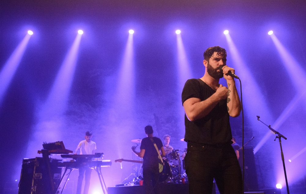 What went down at Yannis from Foals' Oxford Union talk