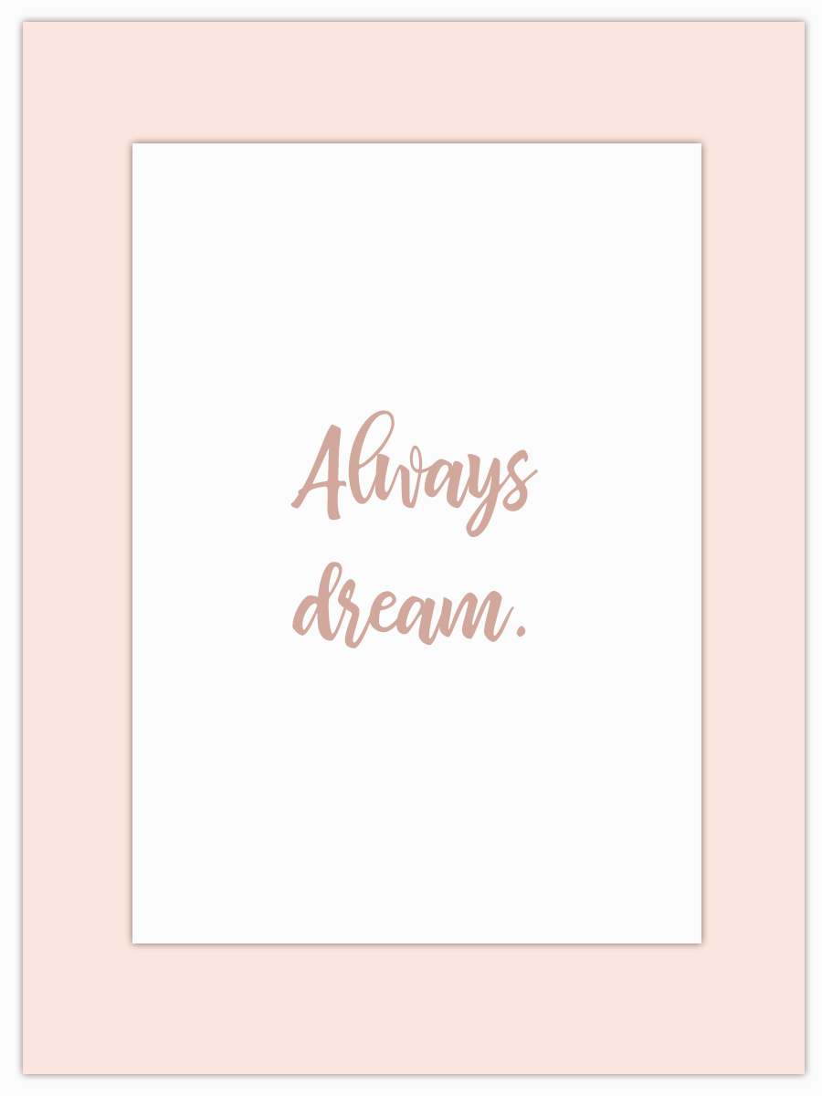 Let my Monday Muse motivate you through the week! - Tell me your number 1 dream…