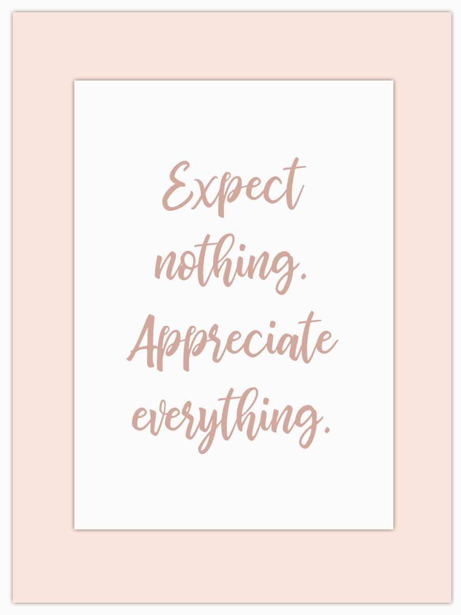 Let my Monday Muse motivate you through the week! - Everything is so much more when you don't expect it!