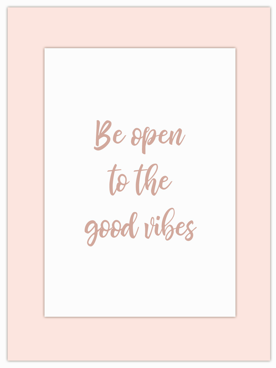 Let my Monday Muse motivate you through the week! - The new year always brings new challenges so tell me, are you open to the good vibes that these challenges bring?
