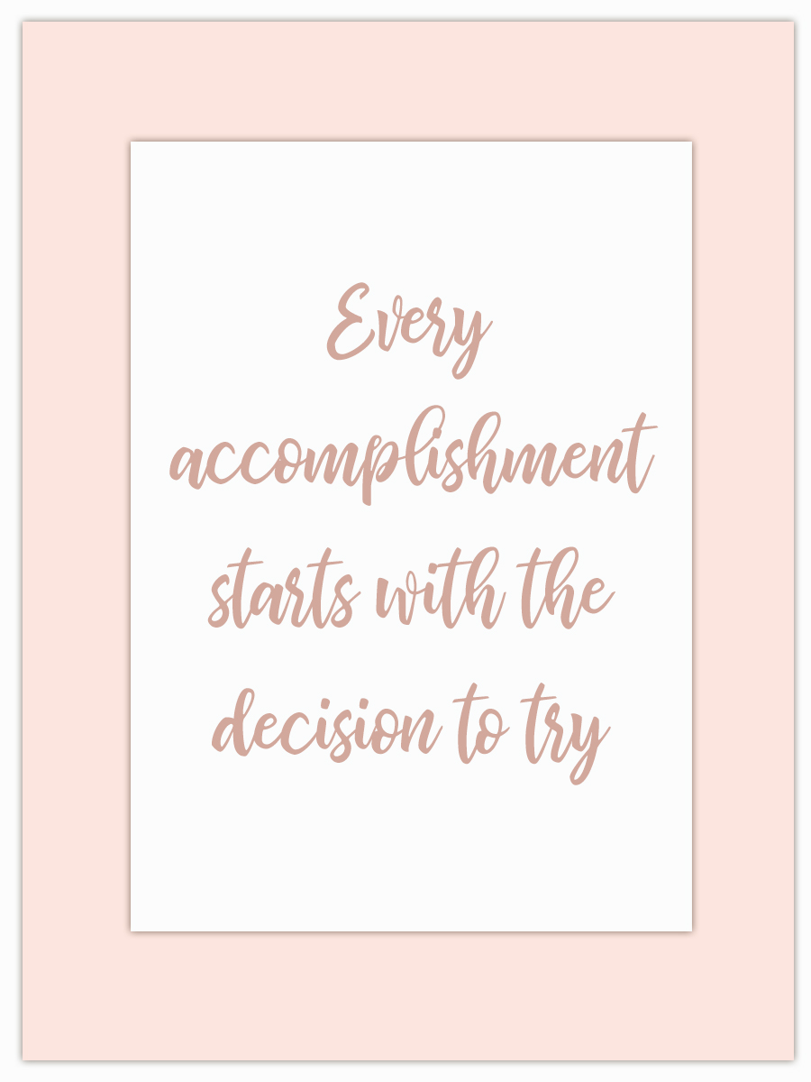 Let my Monday Muse motivate you through the week! - What will you decide to try this week…? Let me know in the comments!