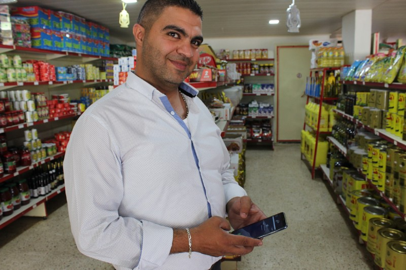 When retail, humanitarian assistance and digital technology meet