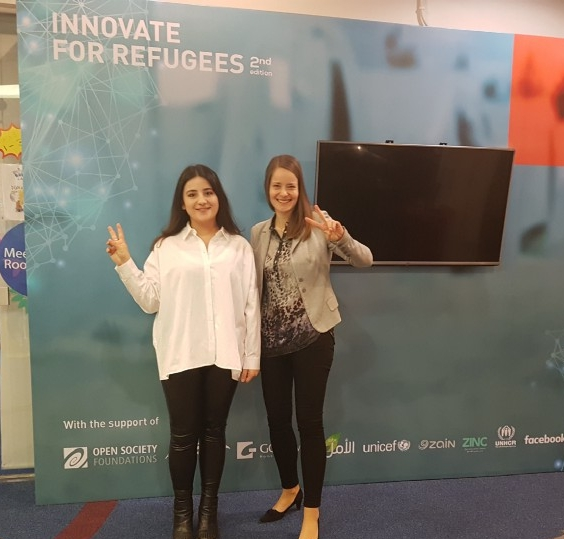 Tech for Food wins big at the 'Innovate for Refugees' awards ceremony in Amman