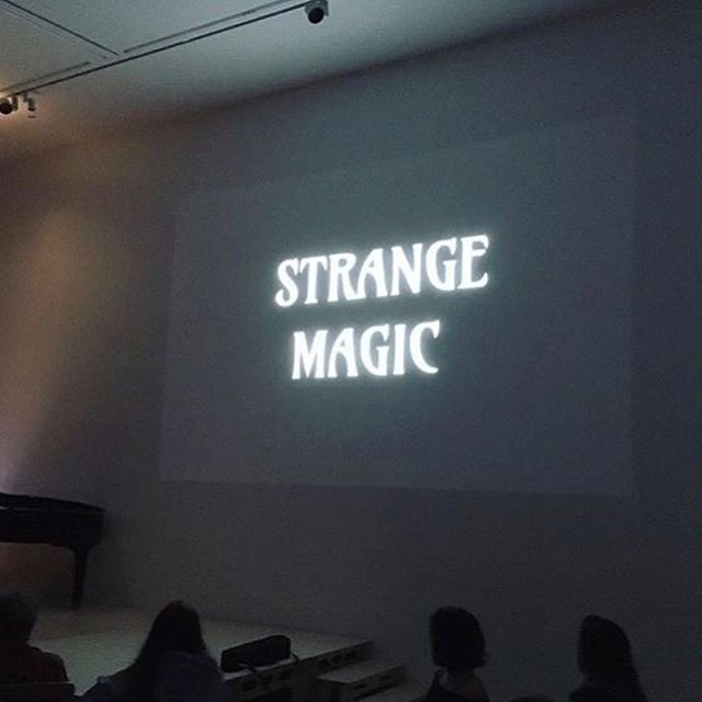 A silent short I wrote/directed in the Easter has just been accepted into Common Ground film festival and I am so excited!! Strange Magic was filmed and screened at @hauserwirth in Somerset in May this year but will have a little Halloween outing in a week or so. Groovy baby!
