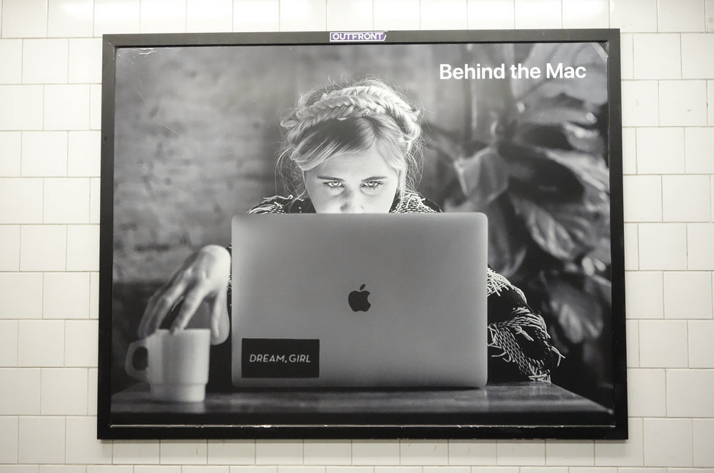 Behind the Mac - Our director Erin Bagwell was selected to be part of Apple's Behind the Mac campaign, highlighting some of the most creative people in Brooklyn.Learn More.