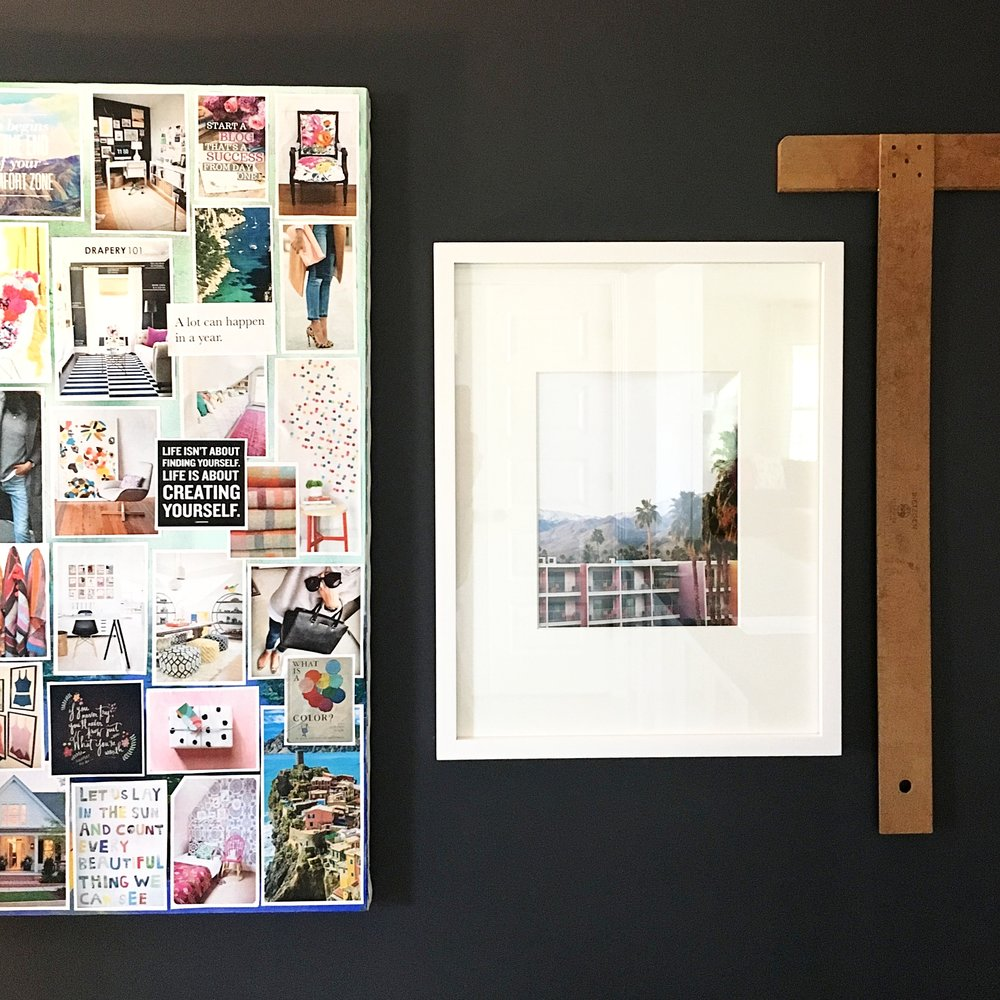 Design: MMDH | Inspo Board: Pre-MMDH | Print:  Jenny's Print Shop