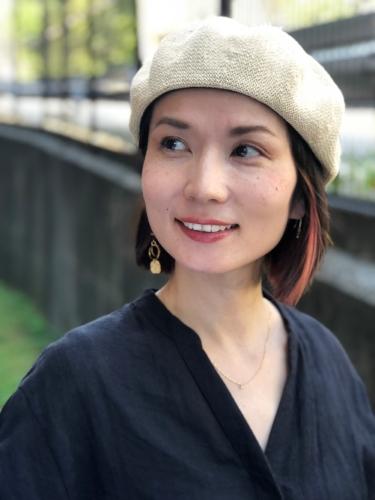 Akiko Belton, designer of lijoas