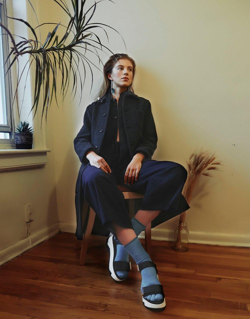 Jacket & Shirts :  Freckle, Socks: Glück und Gute, Jewelry: YURIKA_AKUTSU, sasasa